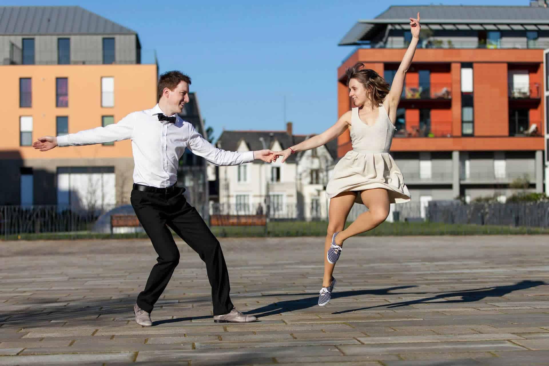 Lindy hop Peter et Chloé